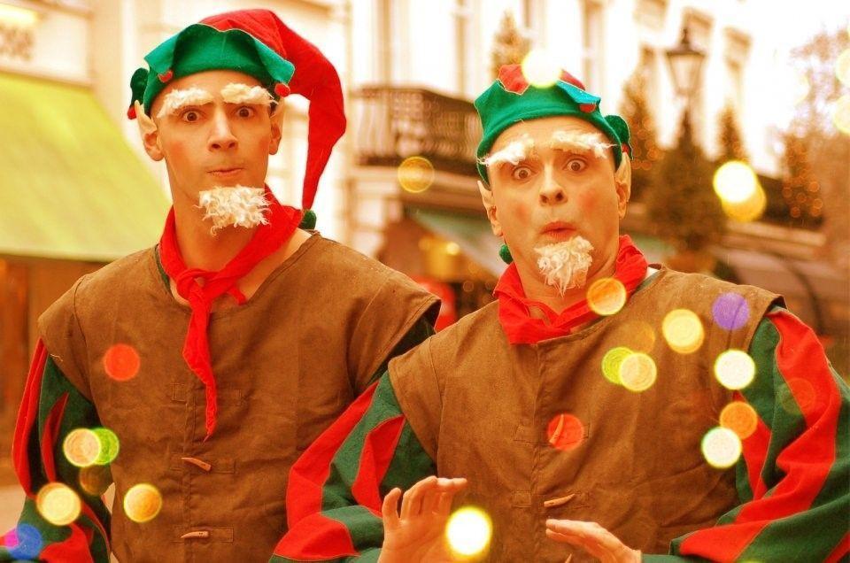 animadores para Navidad
