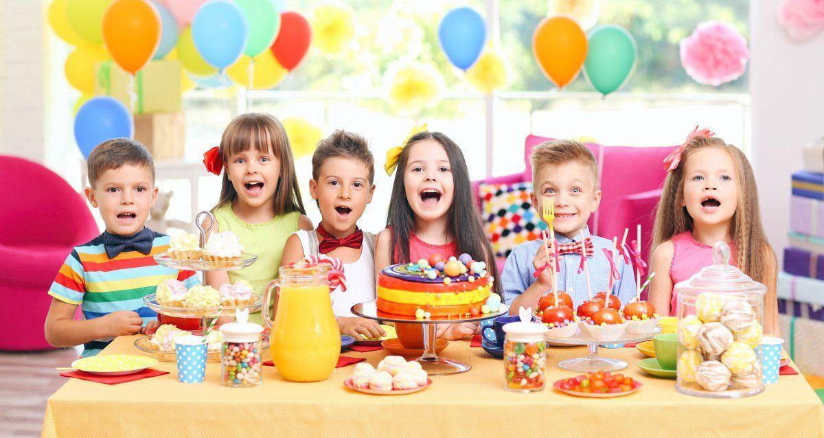Merienda para niños con fruta